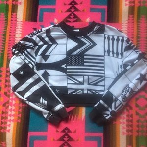 Melody Ehsani x Reebok Cropped Sweatshirt